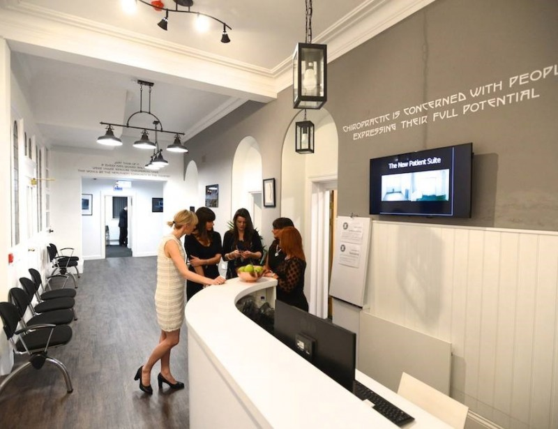 Cardiff Bay Chiropractic Clinic (internal)